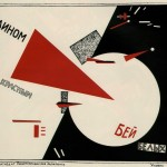 El Lissitzky Beat the Whites with the Red Wedge 1919